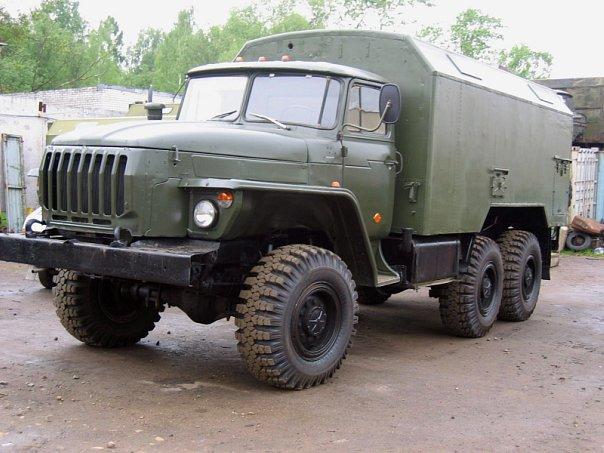 Купить Урал 43202 кунг