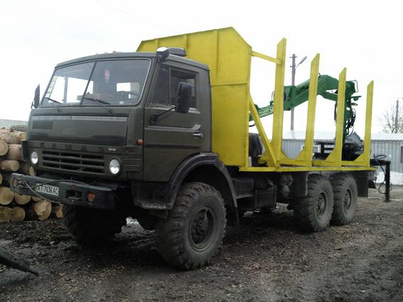 Οχήματα για την μεταφορά ξυλείας