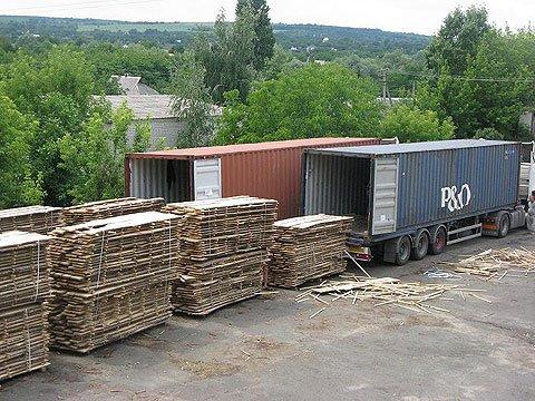 Автоперевозки контейнеров