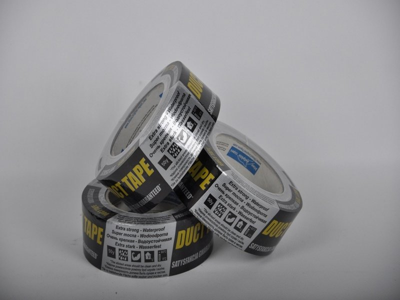 Adhesive tape the reinforced Duct tape