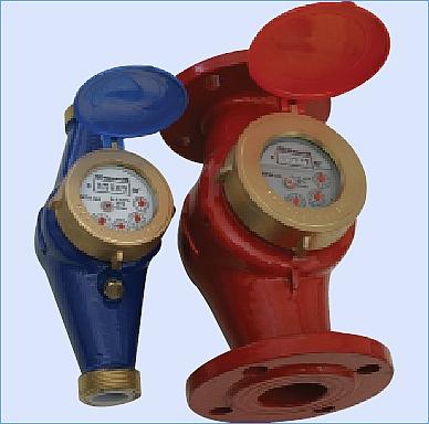 Расходомеры, счетчики воды (горячей и холодной)