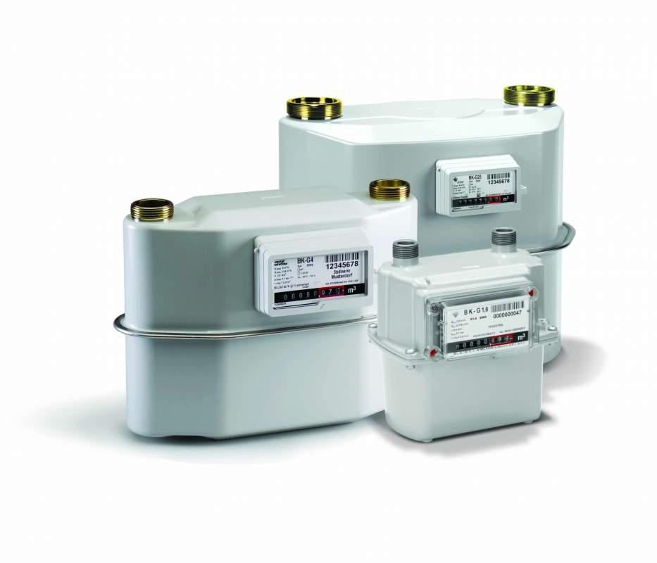 Счетчики и приборы учета газа