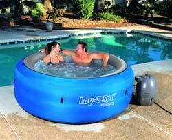 Buy Pools. LAY-Z-SPA aero massage inflatable pass spa pools