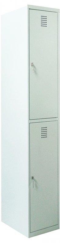 Ячеечный шкаф для камер хранения (локер) на 2 отделения Sus 312