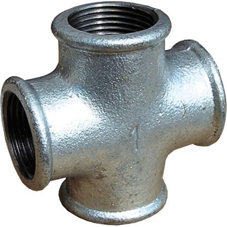 Крестовина для труб чугунная