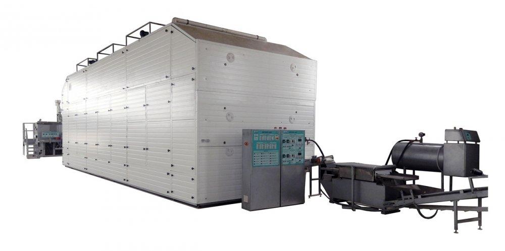Macaroni production line capacity of 400 kg / hour