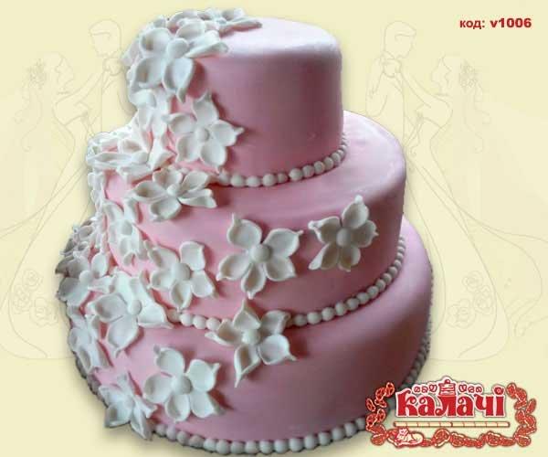 Свадебные торты Чернигов, свадебные торты Нежин, торты на свадьбу от Кондитерское предприятие КАЛАЧИ