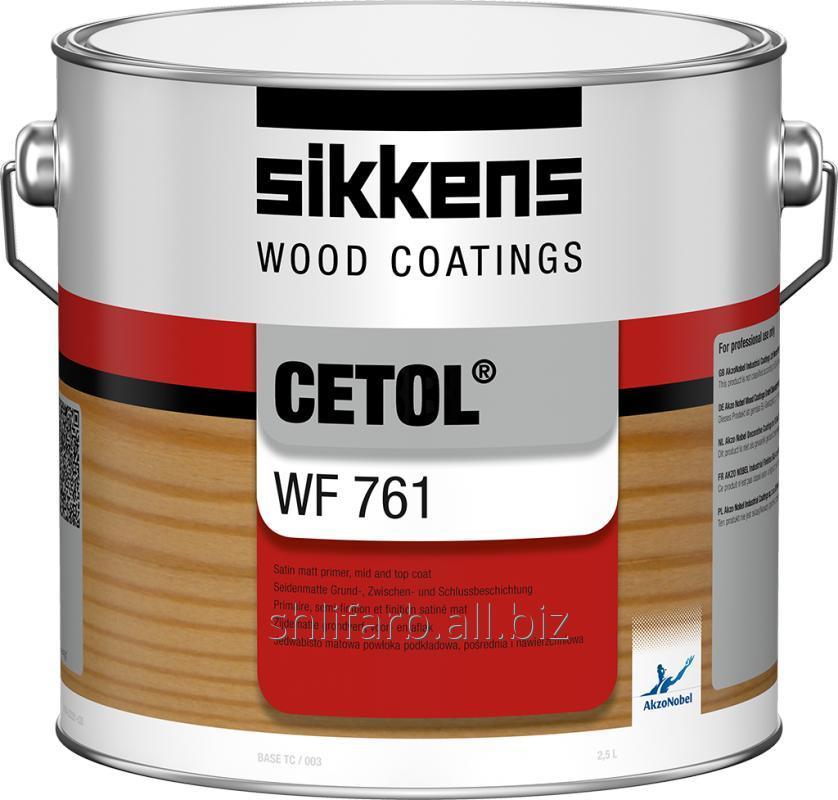 Лак лазурь для наружных работ SIKKENS CETOL WF 761.