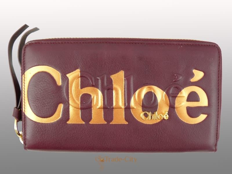 Купить Кошелек-клатч женский CHLOE (ХЛО)