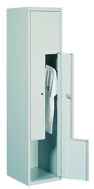 Одежный металлический шкаф (локер) с Г-образными дверьми Sul 41