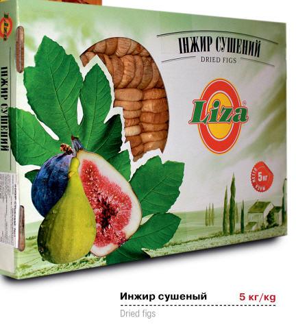 "Инжир  ""LIZA"" №4,  5 кг Турция"