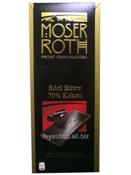 Шоколад Moser Roth Edel Bitter-70 % 125 г