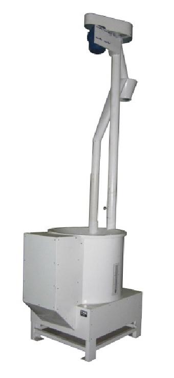 Мукопросеиватель вибрационный с вертикальным шнеком для выгрузки ПМ-3