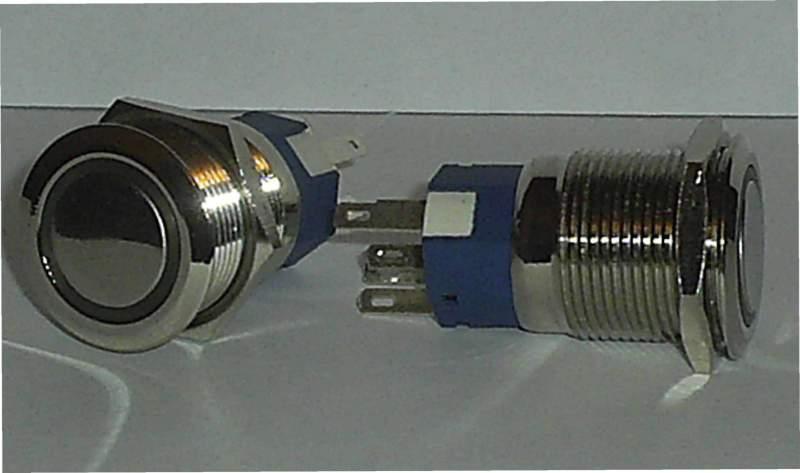 091f9d34d15ec Кнопка металическая с подсветкой 19мм. купить в Черкассах