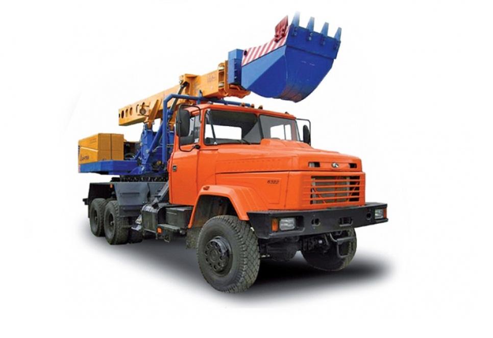 Купить Автокран КрАЗ-6322 EW-25-M1