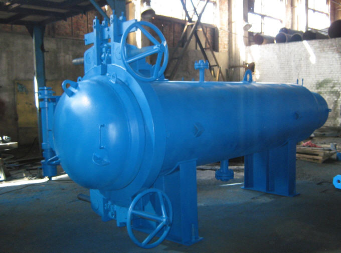 Buy Chambers of start (reception) of means of cleaning and diagnostics for oil and gas pipelines