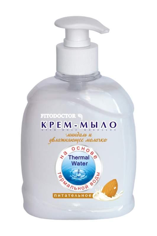 Купить Крем-мыло «Миндаль и увлажняющее молочко» питательное, 300 мл