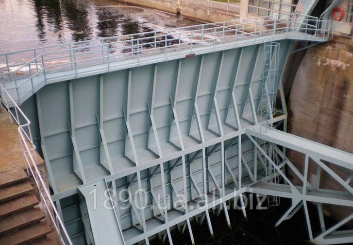 Гидротехнические  шлюзовые ворота