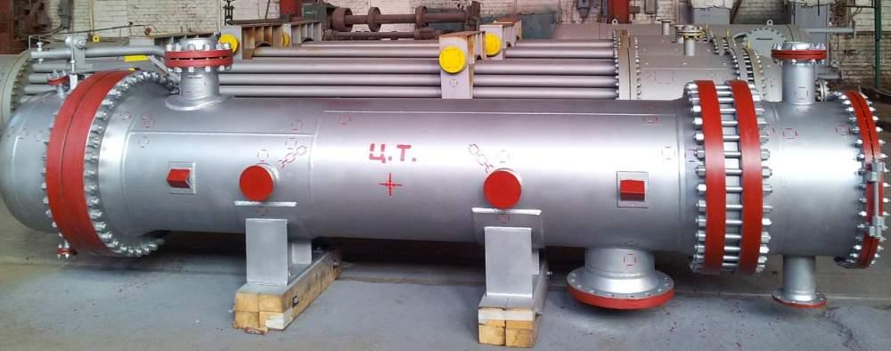 Аппарат емкостный цилиндрический ТУ 3615-006-00220322-2000