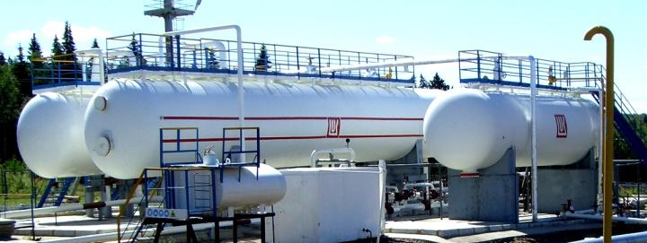 비 발포 및 가스 처리 오일 탈 가스에 대한 가스 분리