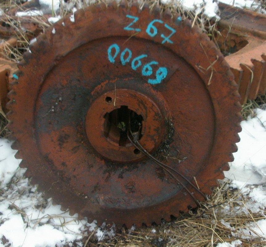 Колесо зубчатое 303-1-11Б (Z=67;m=8)