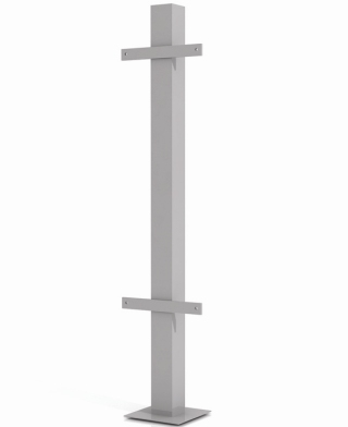Metallic column