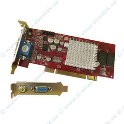 Купить Видеокарта ATI Radeon 7000 DDR 64MB PCI VGA Low Profile