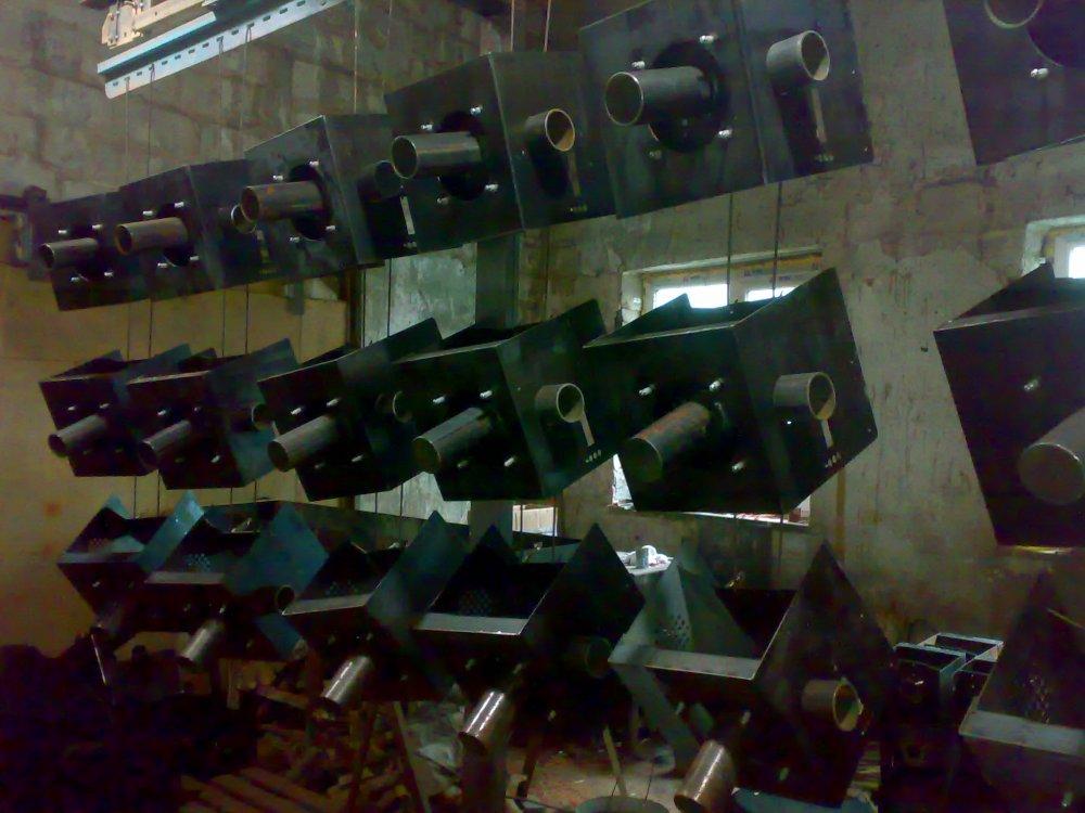 Корпуса для твердопаливних казанів, виробництво.