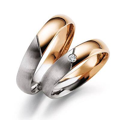 Rings, the Price are over couple (gold 585)