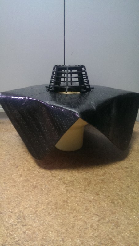 Sita Standard Вертикальная воронка с полиуретана, с листвоуловителем, DN160, Арт 10 08 00