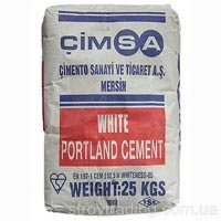 White Cimca cement (Sims)