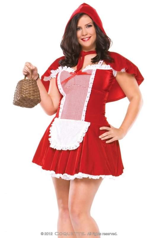 Аппетитная красная шапочка игровой костюм