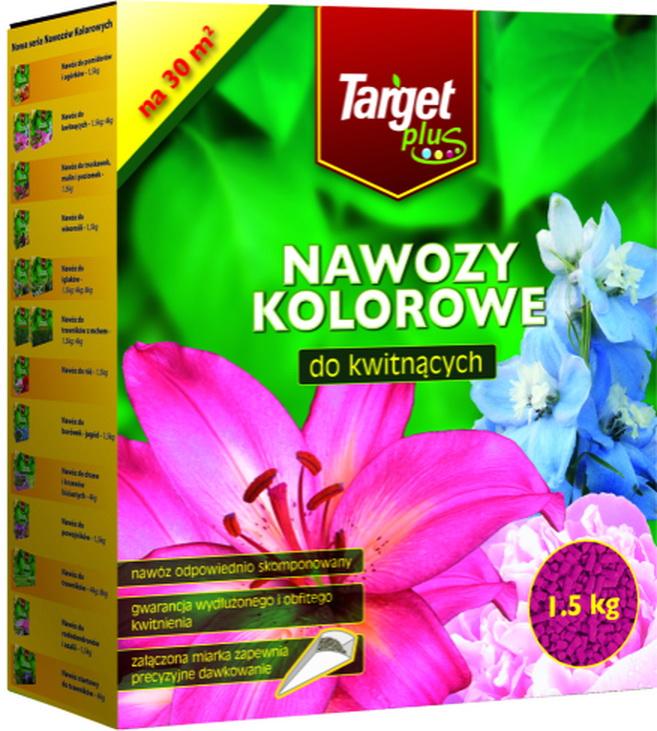 Купить Target Plus удобрение цветное для цветущих растений