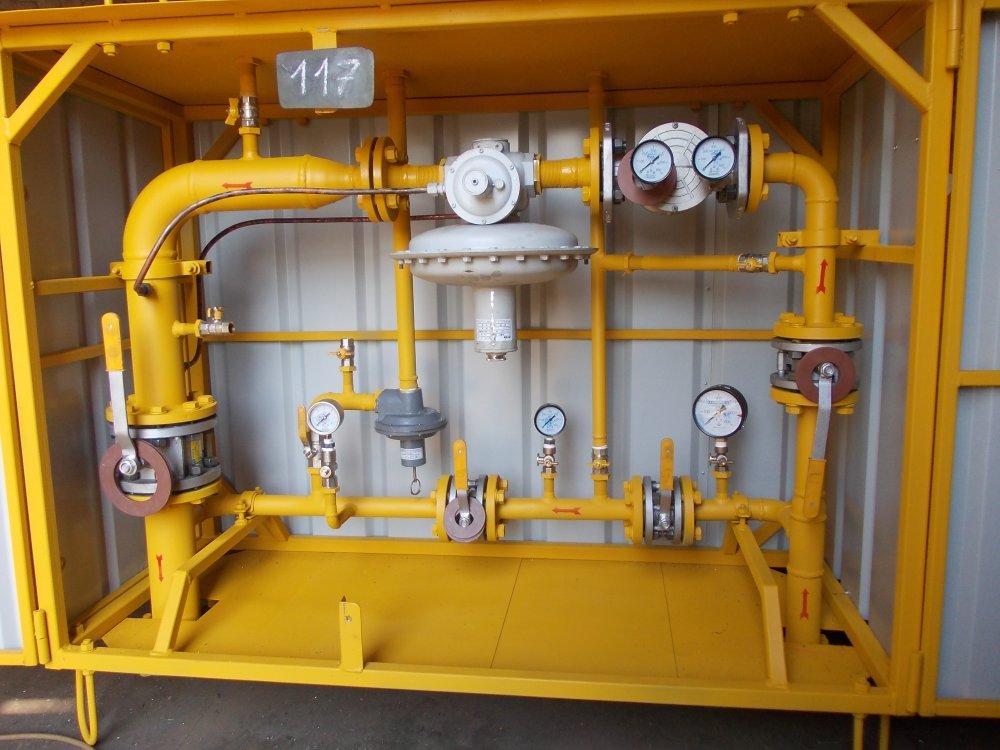 газорегуляторный пункт газа