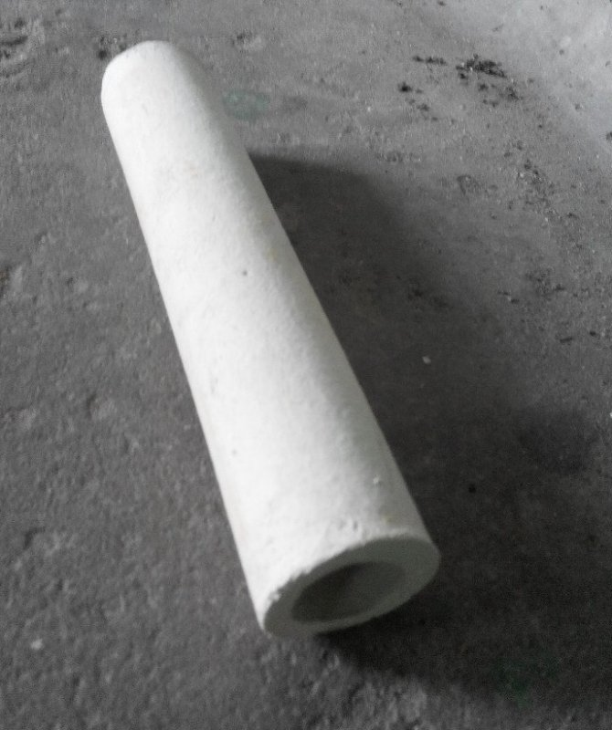 Трубка керамическая МКР 17х12 с запаянным концом