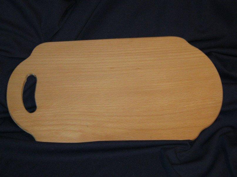 Buy The board is oval, a beech