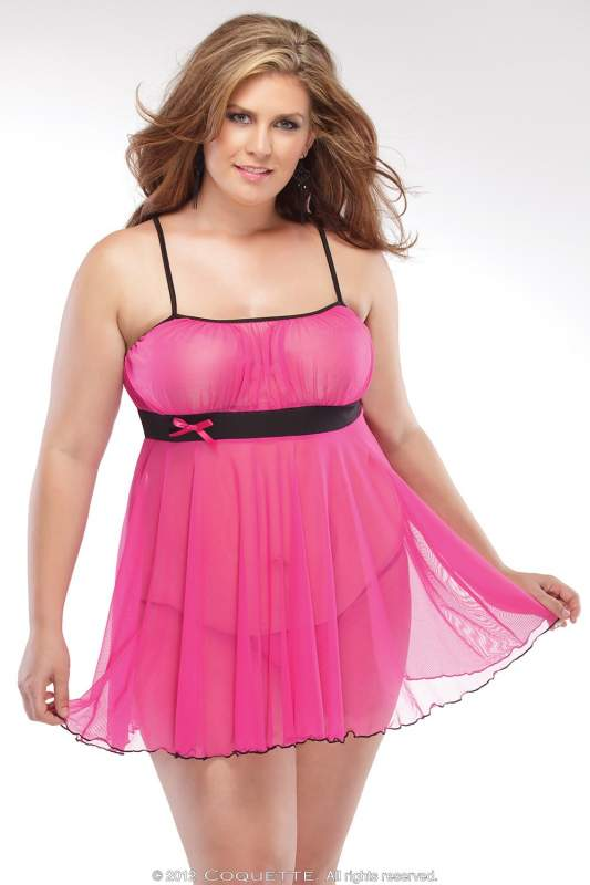 Яркий эротический бебидол   Эротическая одежда