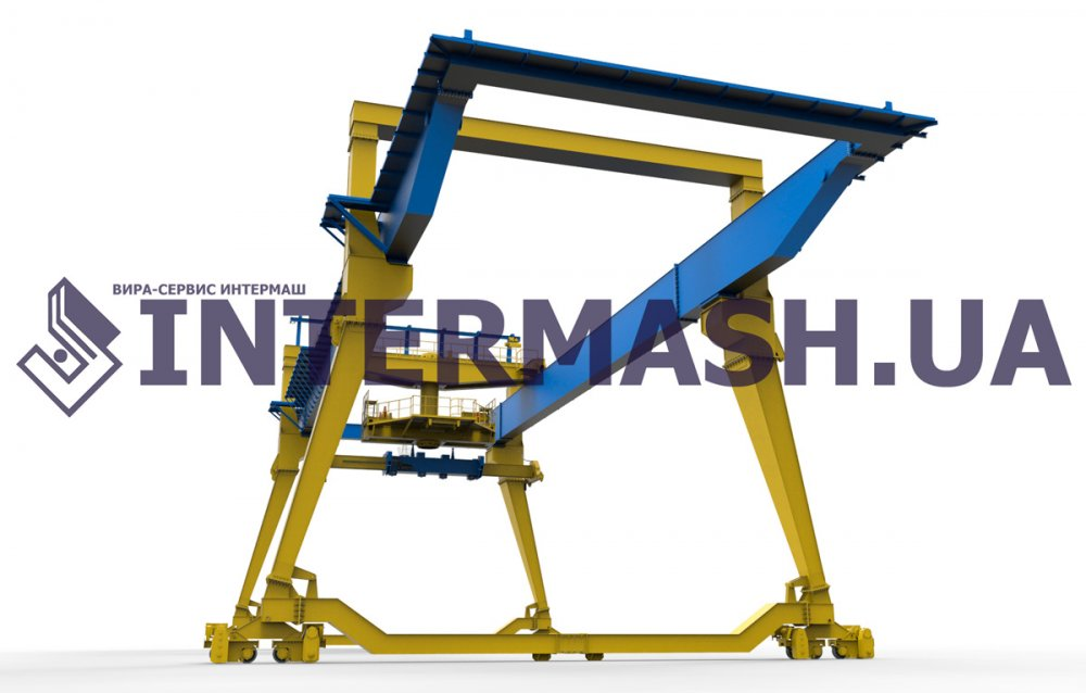 Buy Container gantry cranes on rail to the course (RMG)