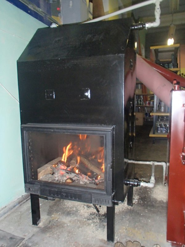 "Fireplace of water-heating 16 kW of TM ""Energiya-M"