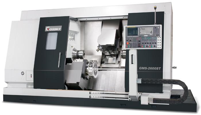 Многофункциональные токарно-фрезерно-сверлильные центры Goodway GMS-2000 с ЧПУ