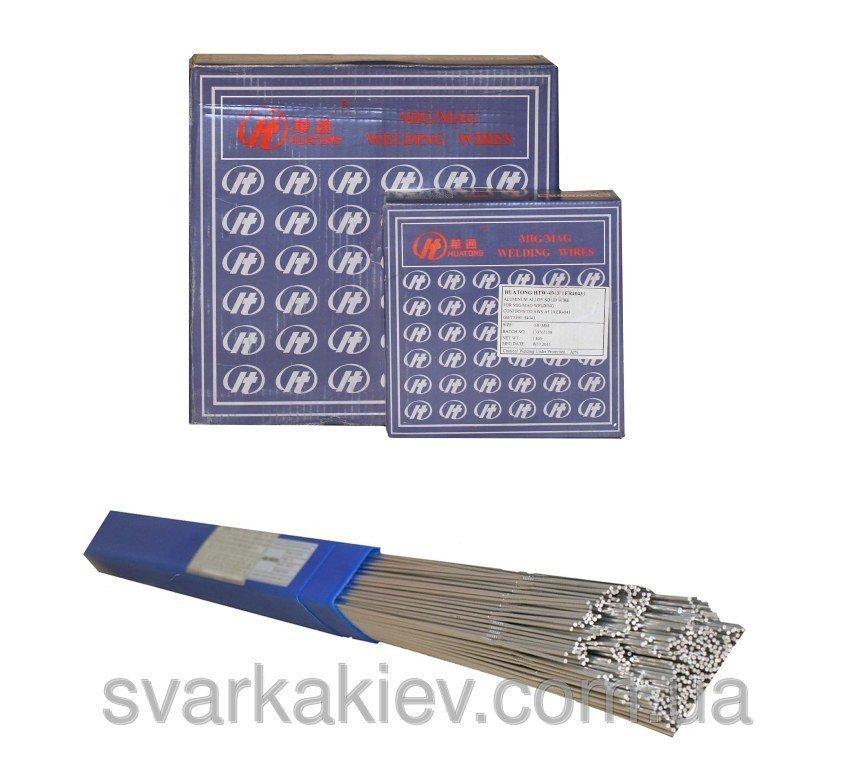 Купить Сварочная проволока для алюминиевых сплавов ER5356 4,0 мм (пластик. тубус 5кг)
