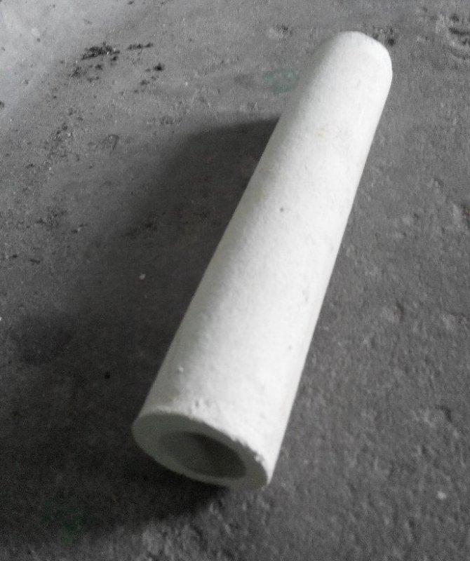 Трубка керамическая МКРЦ 20х10 с запаянным концом