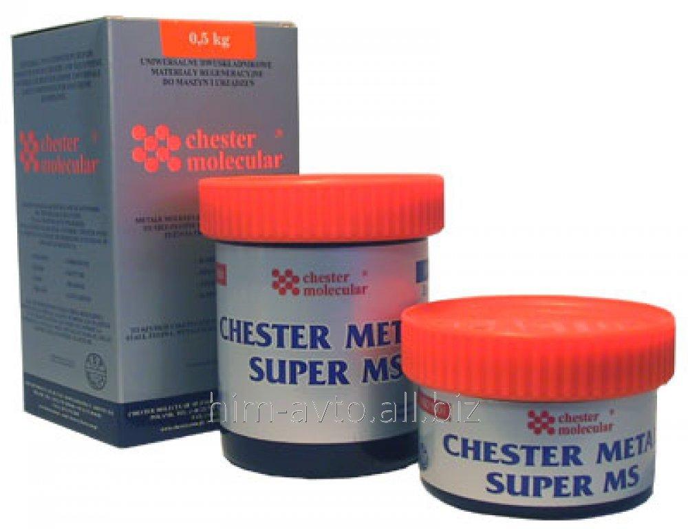 Двухкомпонентный металлокомпозит Chester Metal Super SL 5кг