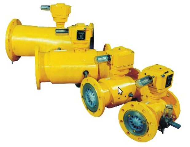 Купить Счетчик газа турбинный ЛГ-К-Ex типоразмер G160 ДУ 80