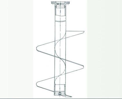 Мешалка Шнековая для различных технологических процессов
