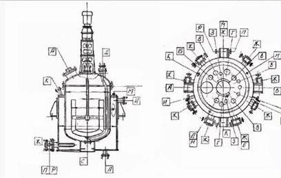 Аппарат с электроподогревом для технологических процессов в жидких средах