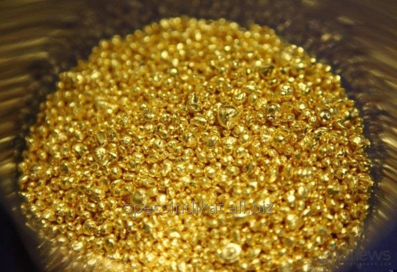Золото 999,9 гранулы