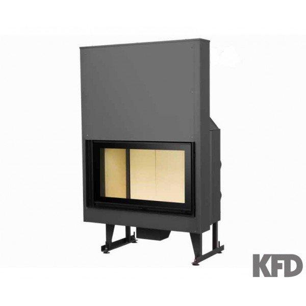 Купити Сталеве коминкове топлення KFD ECO i90 H з піднімальної дверкой