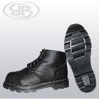 Купить Ботинки юфтевые комбинированные (П-02б)