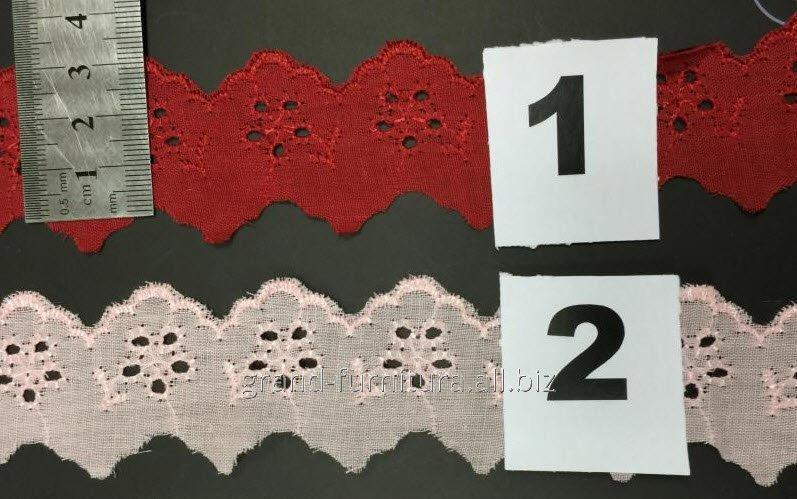 Прошва красная и розовая, арт. T60290